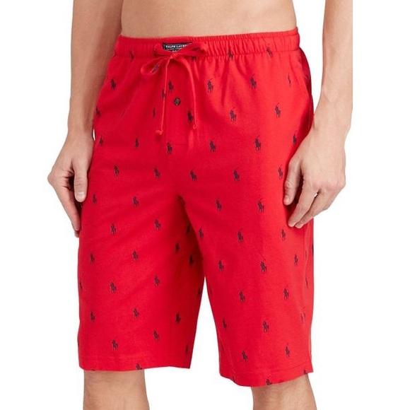 ca34ffdd8 Polo Ralph Lauren Allover Pony Pajama Short. M 5c439208c2e9fe7094797e2e